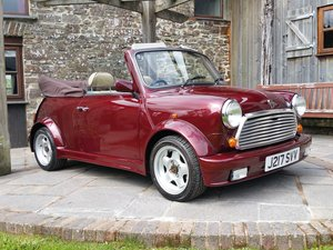 1991 Immaculate Mini Lamm Convertible Just 17100 Miles From New! SOLD
