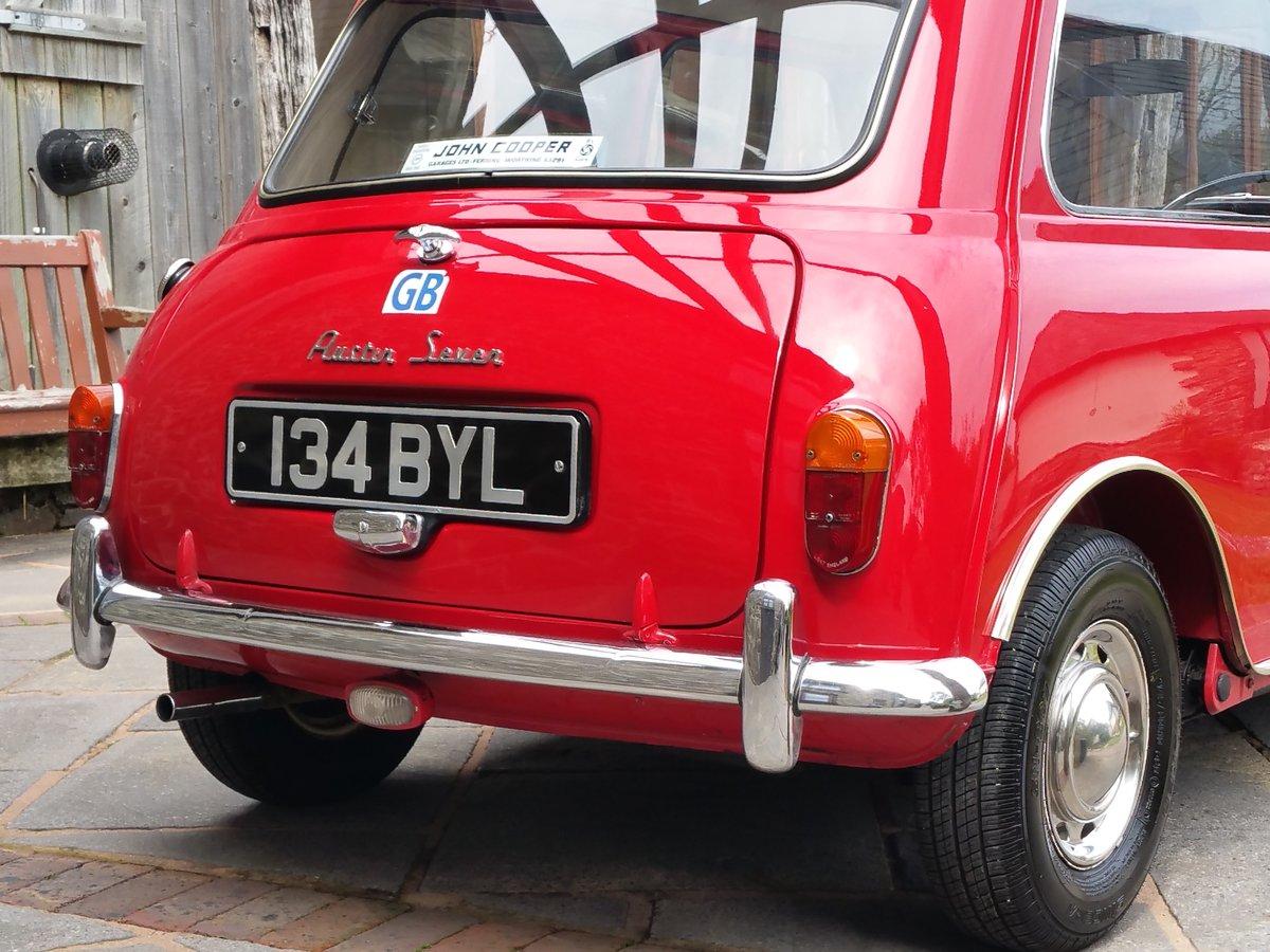 1961 Original Unrestored MK 1 Mini. Last Owner 41 Years! For Sale (picture 3 of 6)