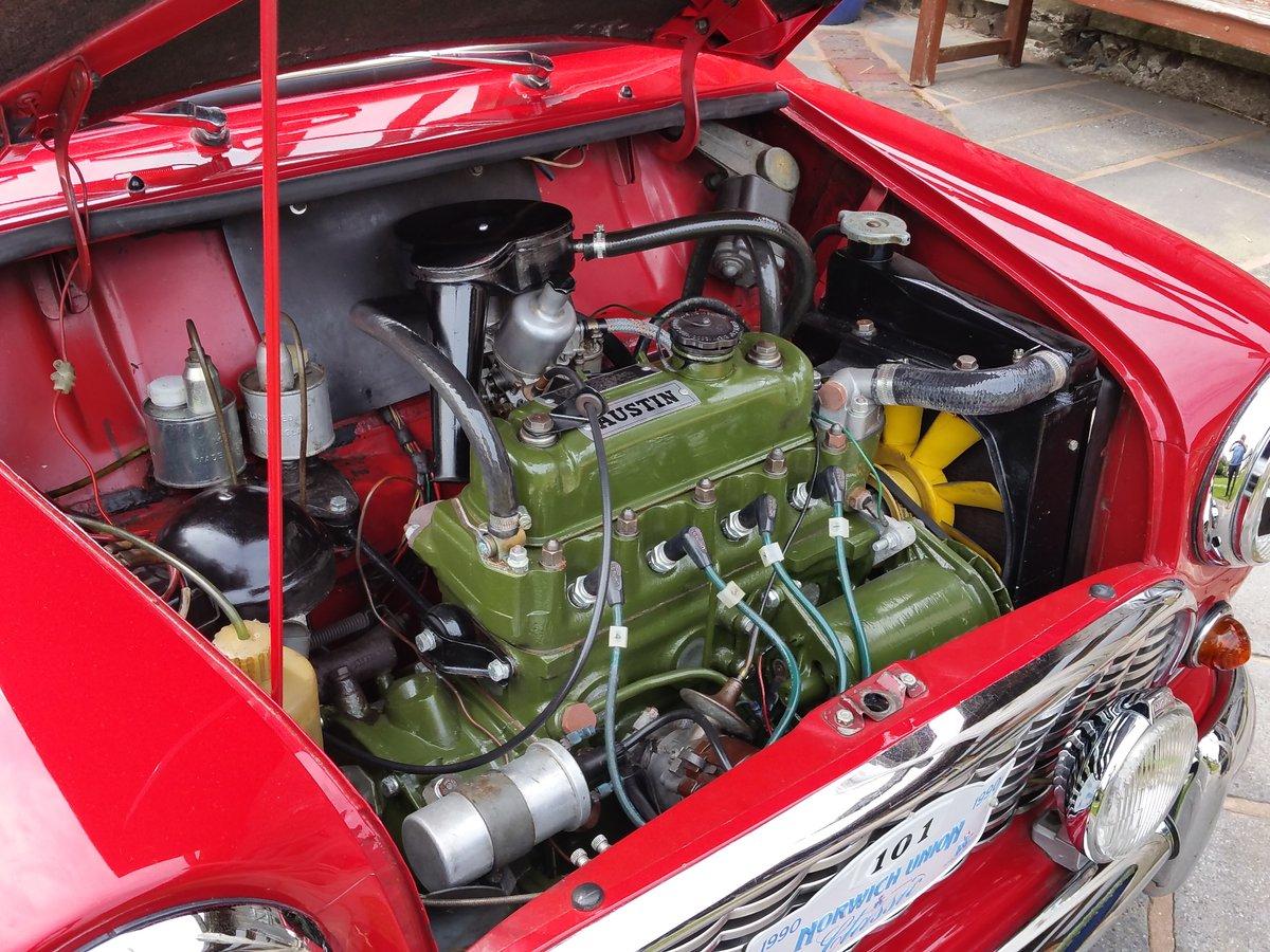 1961 Original Unrestored MK 1 Mini. Last Owner 41 Years! For Sale (picture 4 of 6)