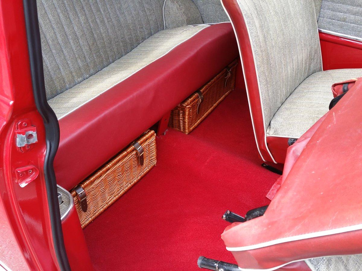 1961 Original Unrestored MK 1 Mini. Last Owner 41 Years! For Sale (picture 5 of 6)