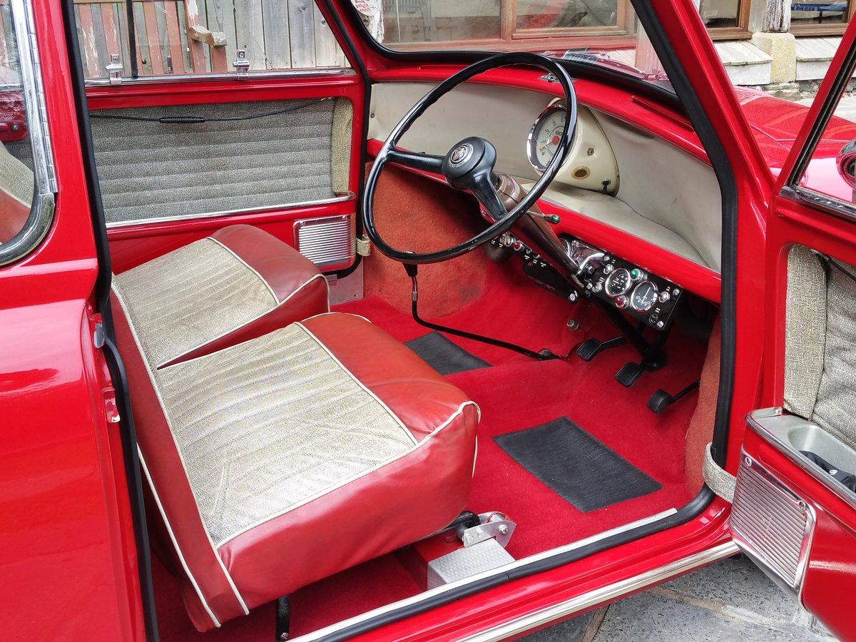 1961 Original Unrestored MK 1 Mini. Last Owner 41 Years! For Sale (picture 6 of 6)