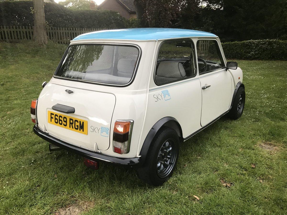 1989 Mr Blue Sky Mini, FANTASTIC CONDITION  For Sale (picture 3 of 6)