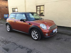 2011 Low mileage Mini Cooper