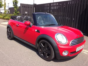 2009 MINI COOPER CONVERTIBLE 1.6 HUGE SPEC