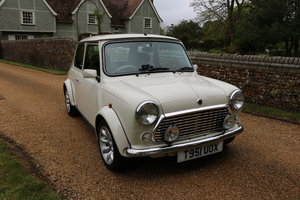 1999 Mini 40th Anniversary LE (RARE IN WHITE)  SOLD