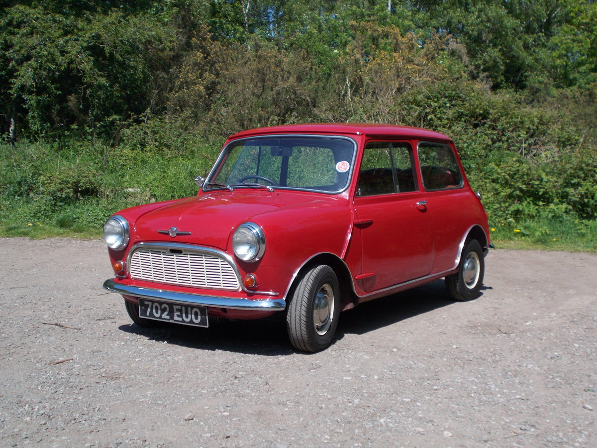 1960 Early Mini in very original, good condition. For Sale (picture 1 of 5)