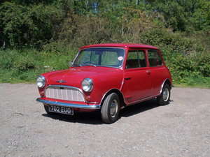 1960 Early Mini in very original, good condition.
