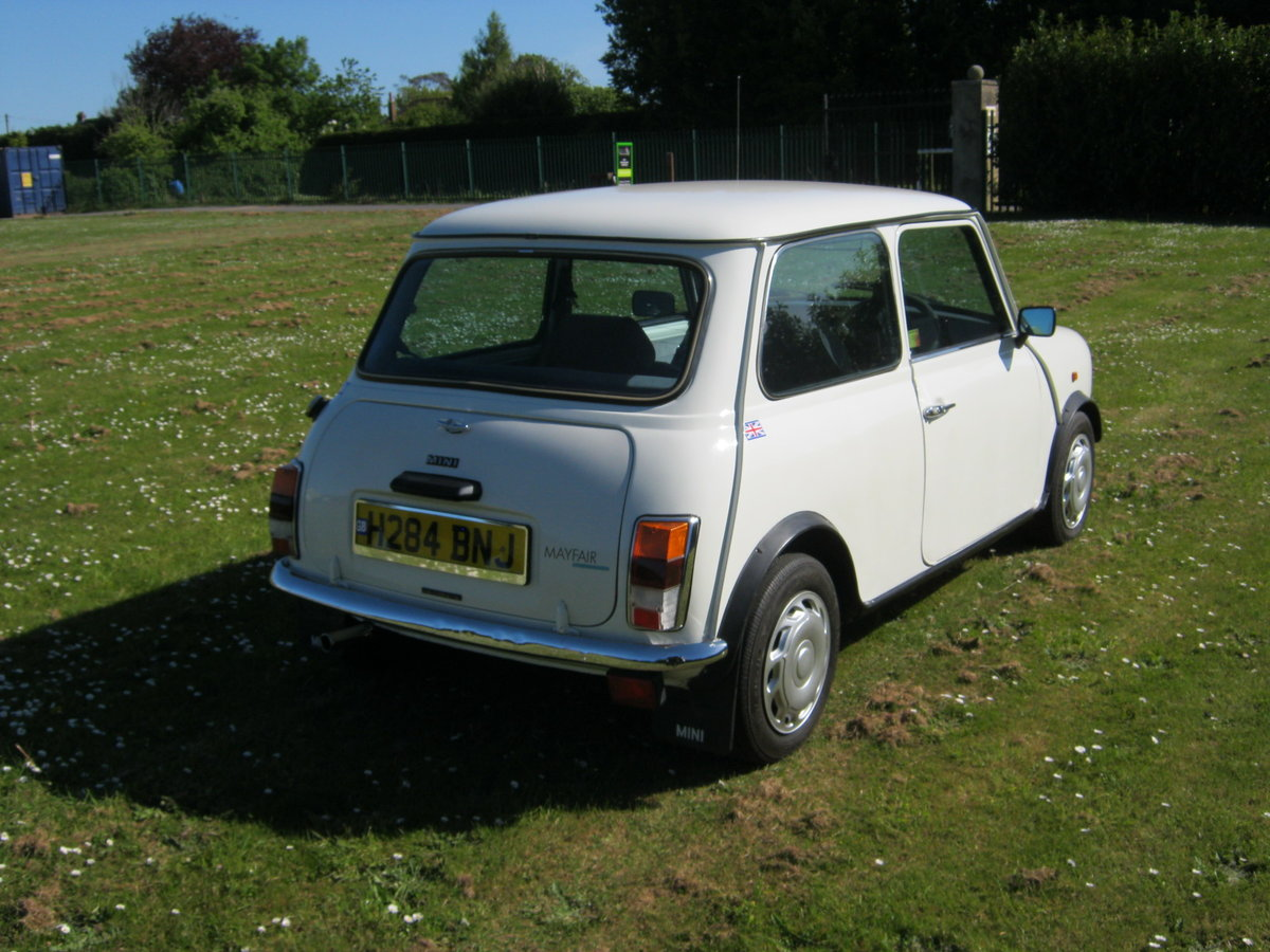 1991 MINI MAYFAIR AUTOMATIC. ONLY 35,000 MILES. 1 OWNER 26Y SOLD (picture 4 of 6)