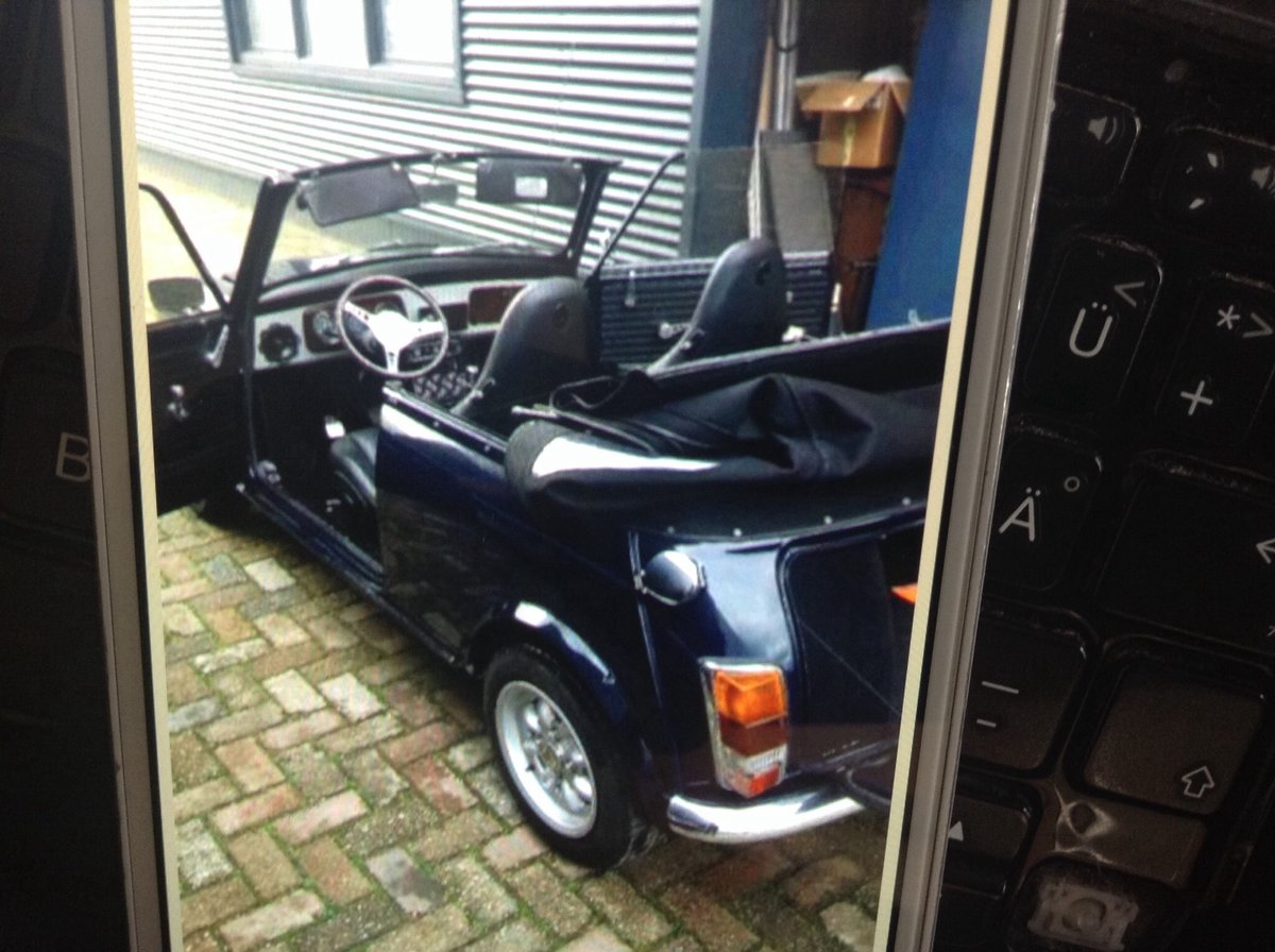 1979 Beautifull mini convertible For Sale (picture 1 of 5)