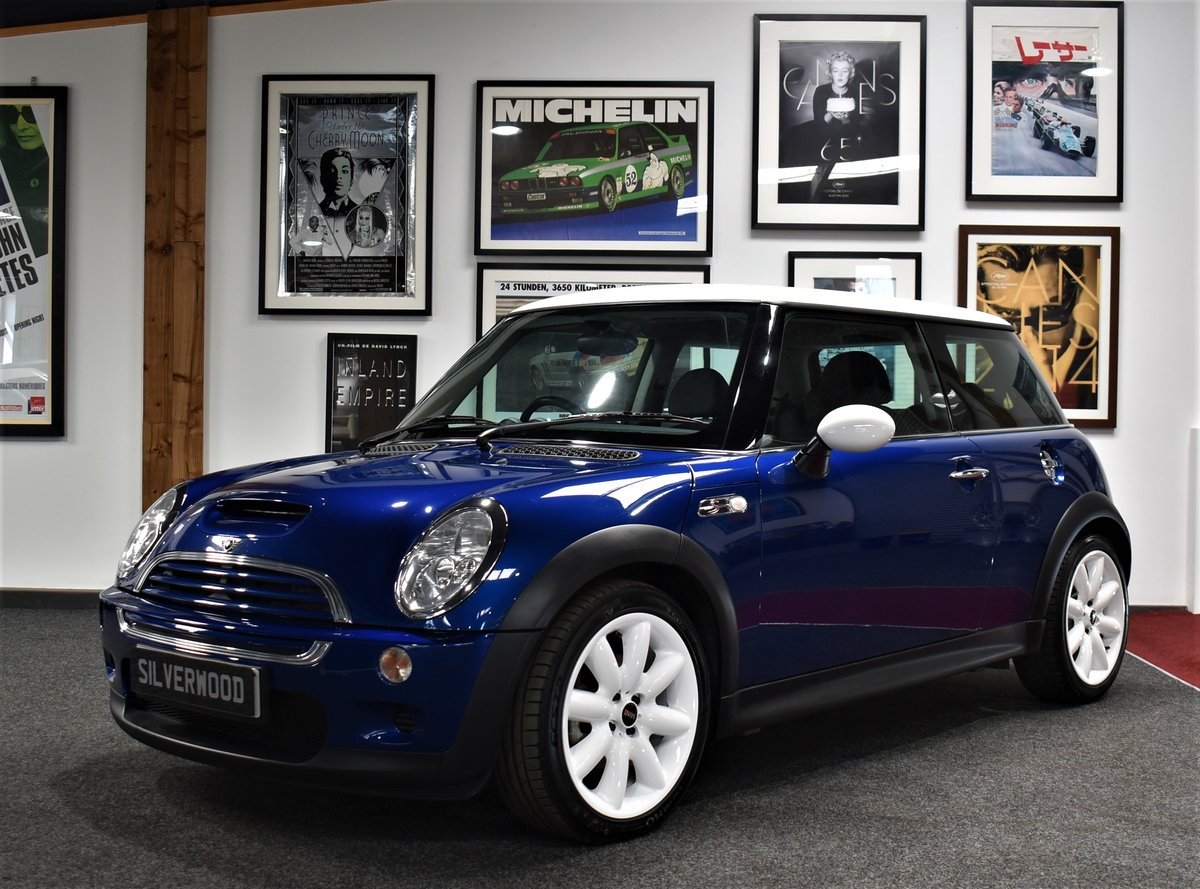 2002 Mini Cooper S R53 Supercharged For Sale (picture 1 of 6)