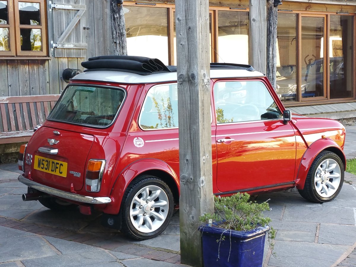 2000 Stunning Mini Cooper Sport On Just 10700 Miles From New SOLD (picture 1 of 6)