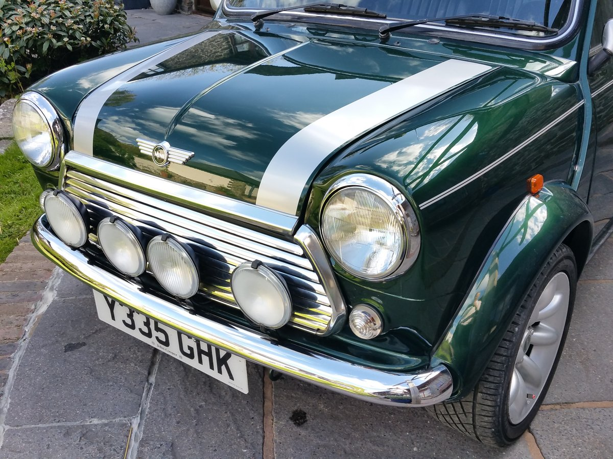 2001 Immaculate British Racing Green Mini Cooper Sport SOLD (picture 2 of 6)
