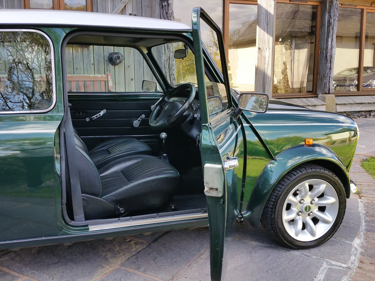 2001 Immaculate British Racing Green Mini Cooper Sport SOLD (picture 4 of 6)