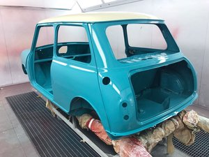 1965 Austin Mini Cooper S  ( Matching Numbers )