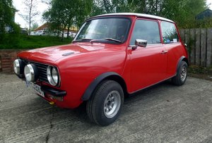 1979 Mini Clubman Classic Rally Car