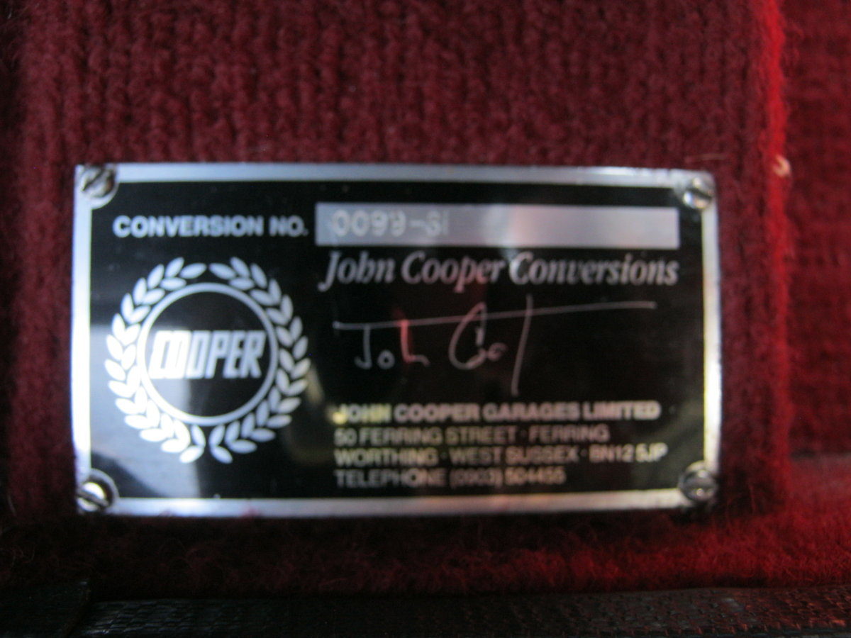1993 ROVER MINI COOPER Si JOHN COOPER WORKS CONVERSION SOLD (picture 4 of 6)