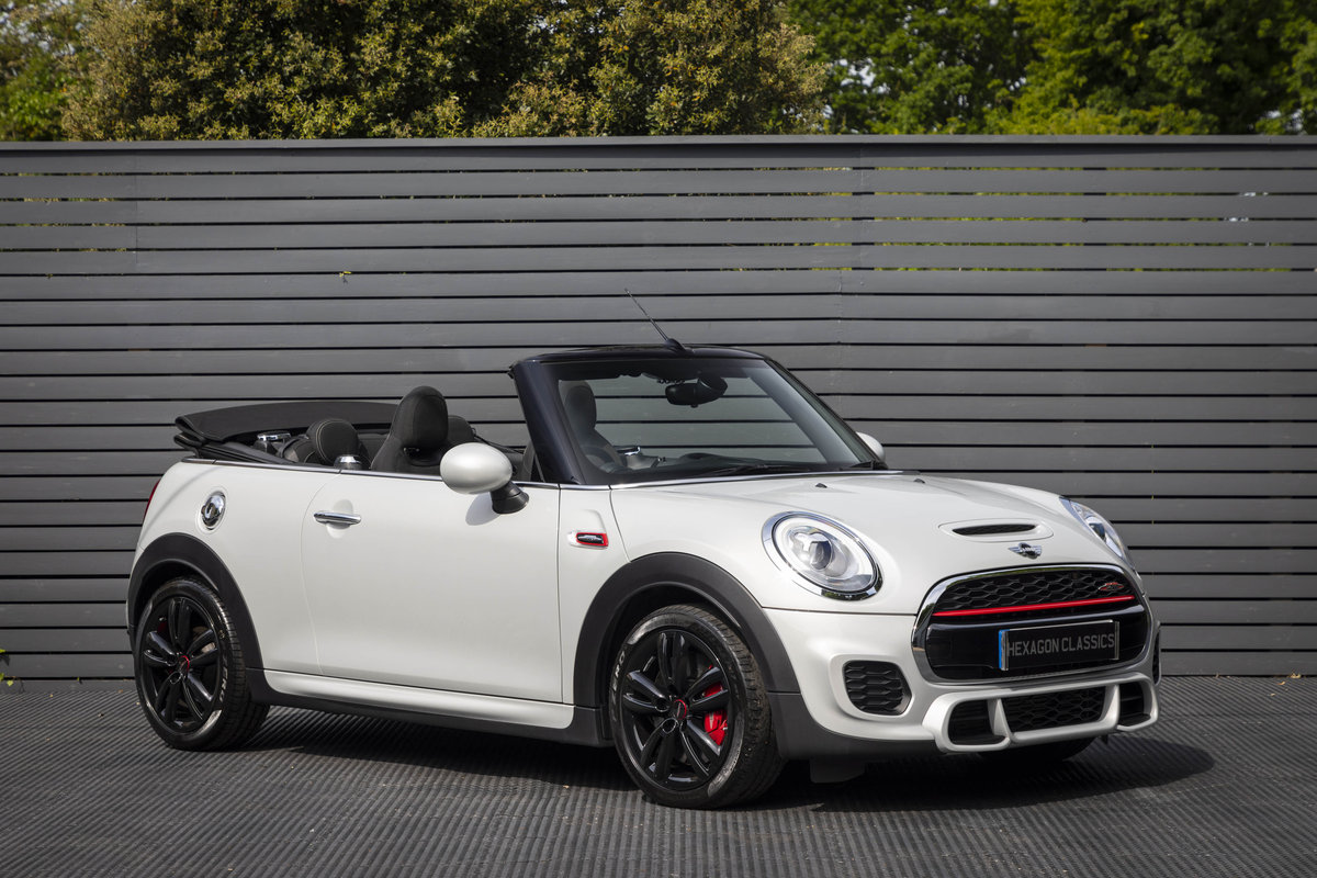 2017 JOHN COOPER WORKS CONVERTIBLE AUTO SOLD (picture 1 of 6)