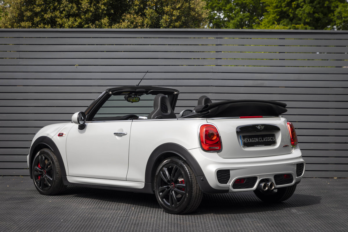 2017 JOHN COOPER WORKS CONVERTIBLE AUTO SOLD (picture 2 of 6)