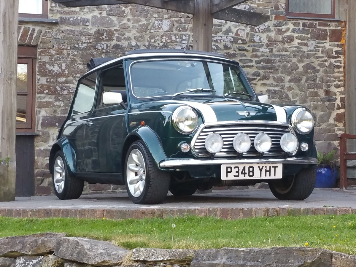 1996 Lovely Mini Cooper Sport With Factory Fit Electric Sunroof SOLD (picture 1 of 6)