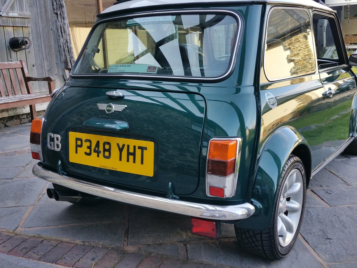 1996 Lovely Mini Cooper Sport With Factory Fit Electric Sunroof SOLD (picture 2 of 6)