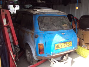 1972 mini mk3 850cc magic wand For Sale