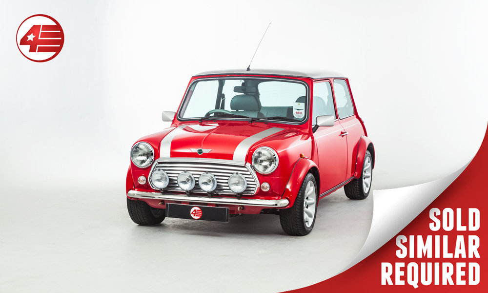 2001 Mini Cooper Sport 500 /// 1 Owner /// 470 Miles From New! SOLD (picture 1 of 2)