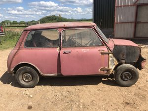1960 Morris Mini 848cc for sale by auction on June 15th