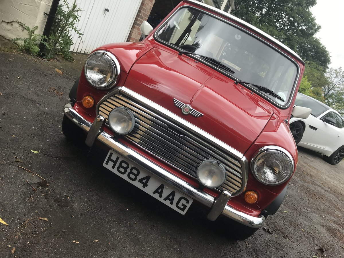1991 Mini Cooper in stunning untouched condition  For Sale (picture 1 of 6)