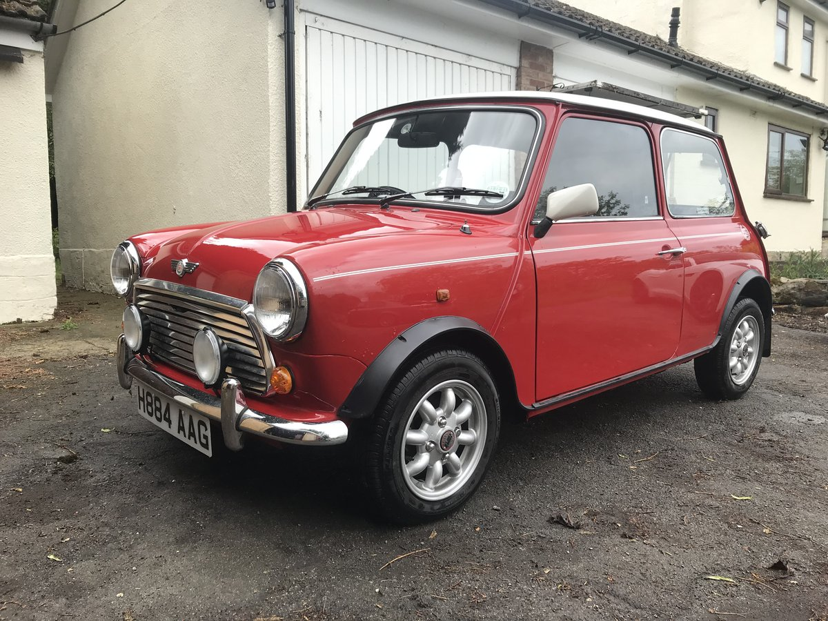 1991 Mini Cooper in stunning untouched condition  For Sale (picture 2 of 6)