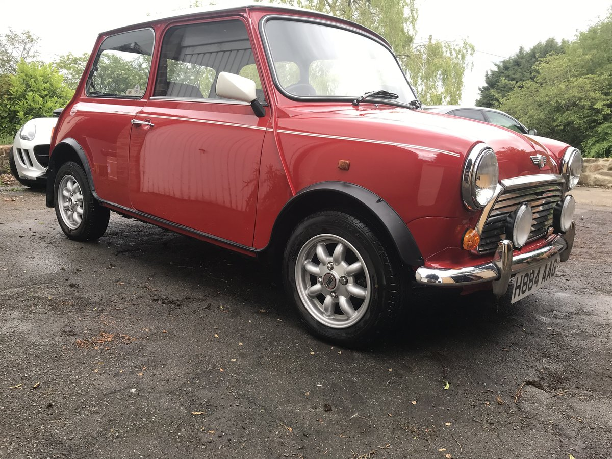 1991 Mini Cooper in stunning untouched condition  For Sale (picture 3 of 6)
