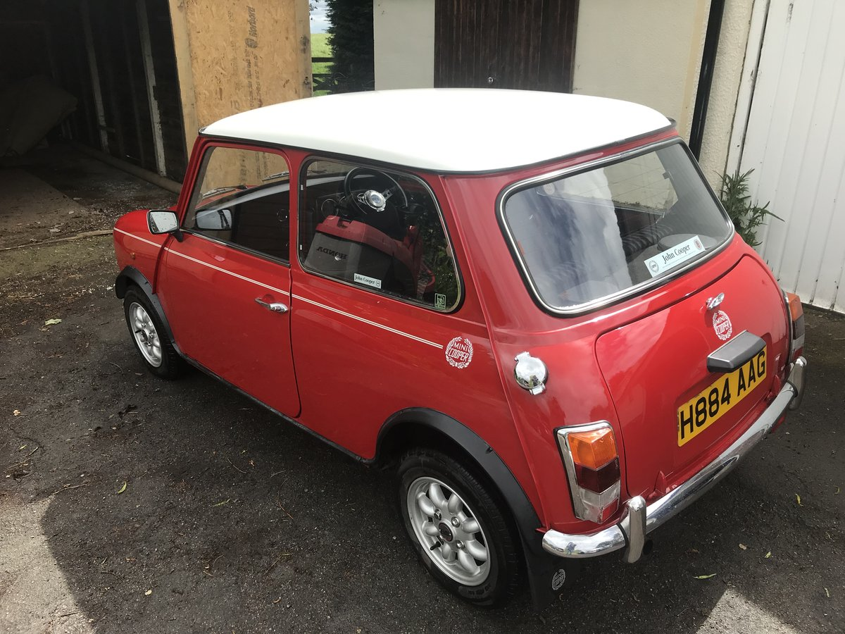 1991 Mini Cooper in stunning untouched condition  For Sale (picture 5 of 6)