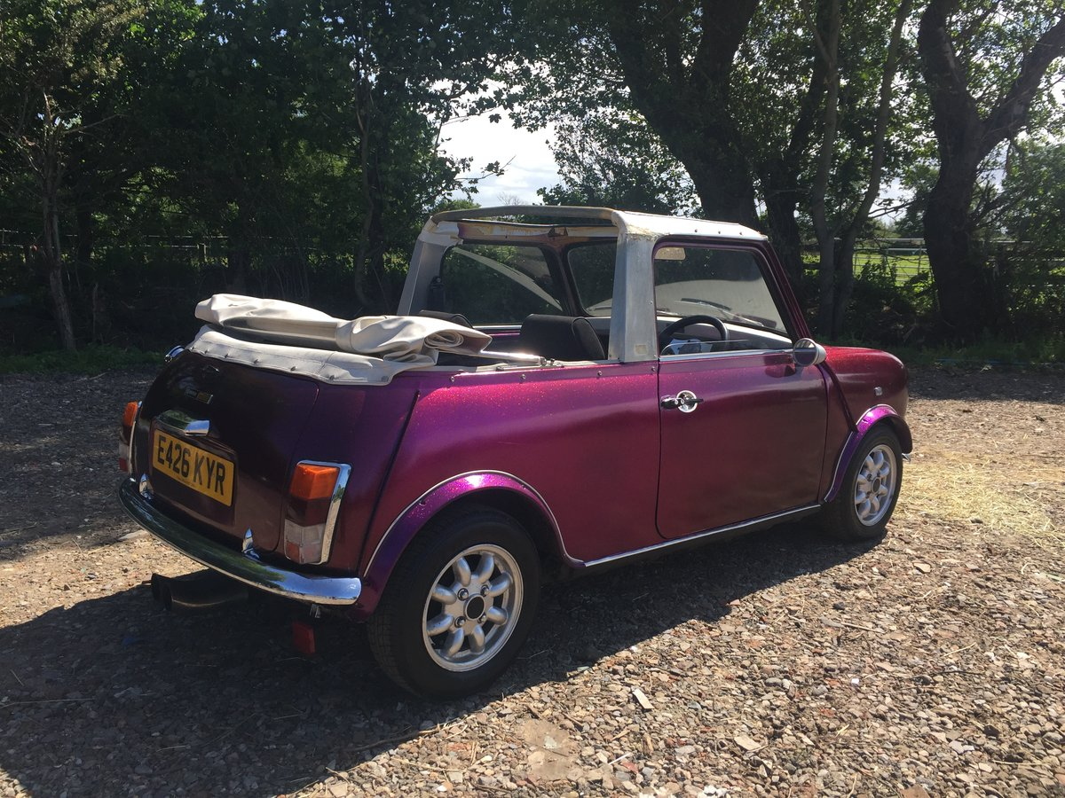 1987 Classic mini convertible cabriolet 11 miles only! For Sale (picture 1 of 6)