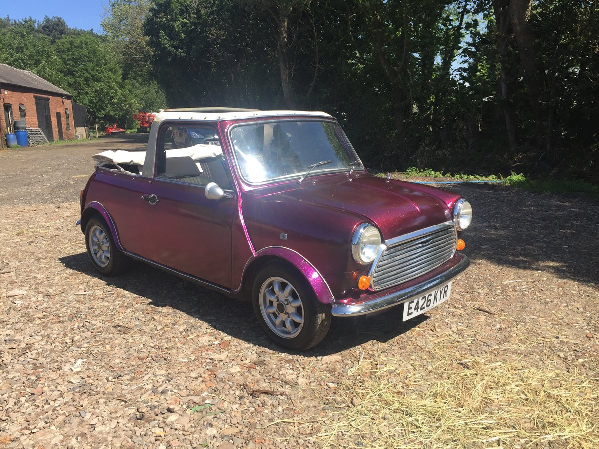1987 Classic mini convertible cabriolet 11 miles only! For Sale (picture 2 of 6)