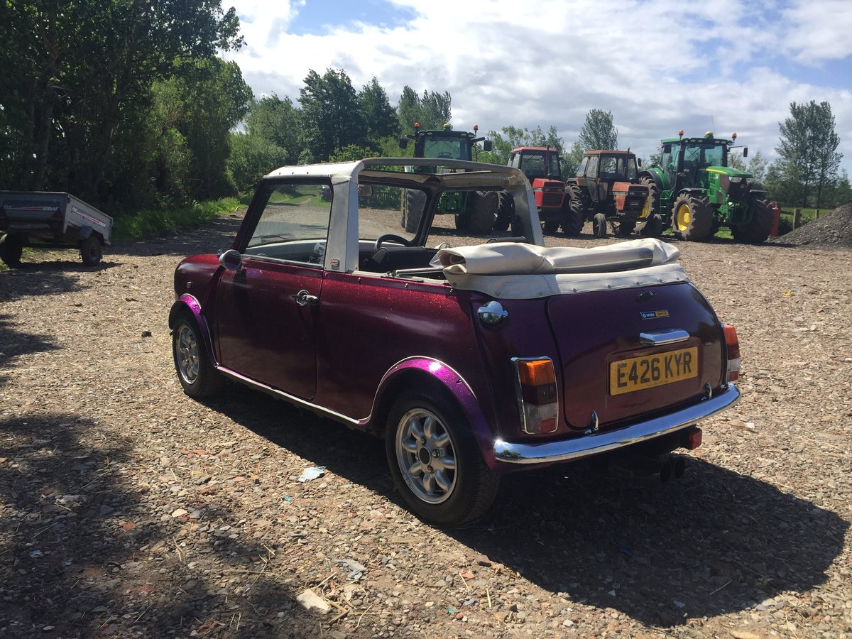 1987 Classic mini convertible cabriolet 11 miles only! For Sale (picture 3 of 6)