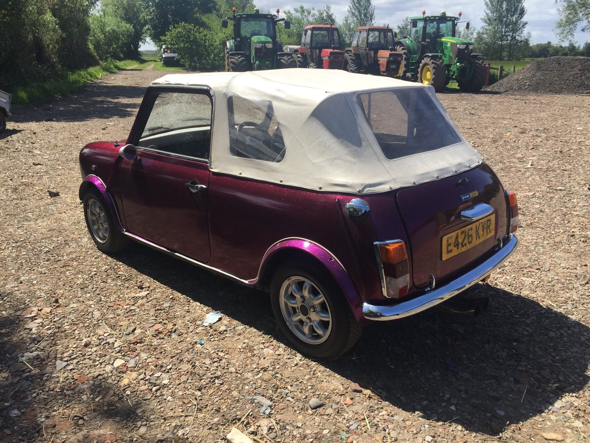 1987 Classic mini convertible cabriolet 11 miles only! For Sale (picture 5 of 6)