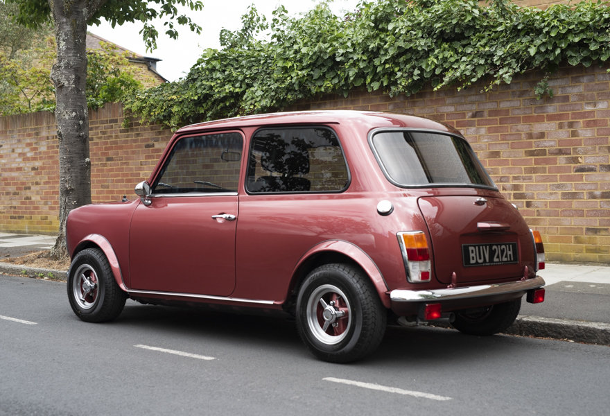 Mini Margrave Wood & Pickett 1380cc 1970 (RHD) For Sale (picture 4 of 12)