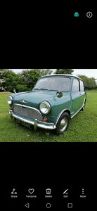 MK1 mini 850 cc, totally original
