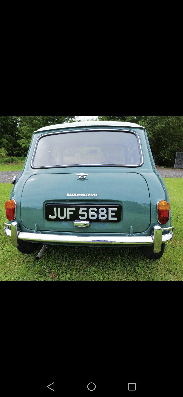 1967 MK1 mini 850 cc, totally original For Sale (picture 2 of 6)
