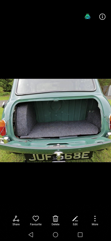 1967 MK1 mini 850 cc, totally original For Sale (picture 3 of 6)