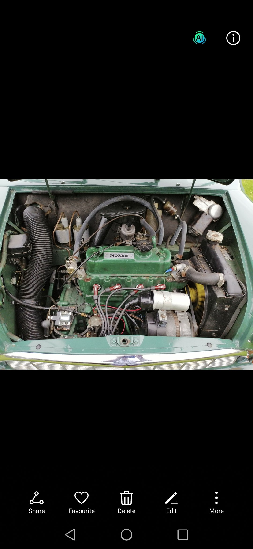 1967 MK1 mini 850 cc, totally original For Sale (picture 4 of 6)