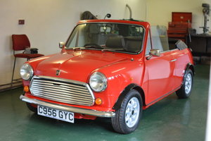 1986 Mini Cabriolet For Sale by Auction