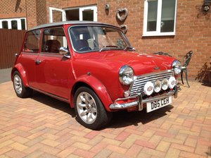 1987 1275 Cooper engined Mini.wood and picket special.