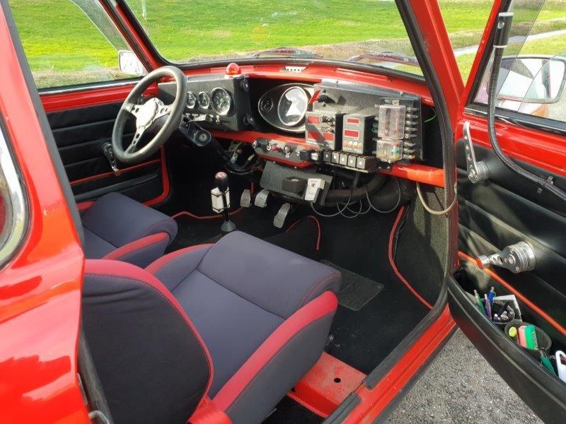 1973 Mini MKI Rally replica SOLD (picture 4 of 6)