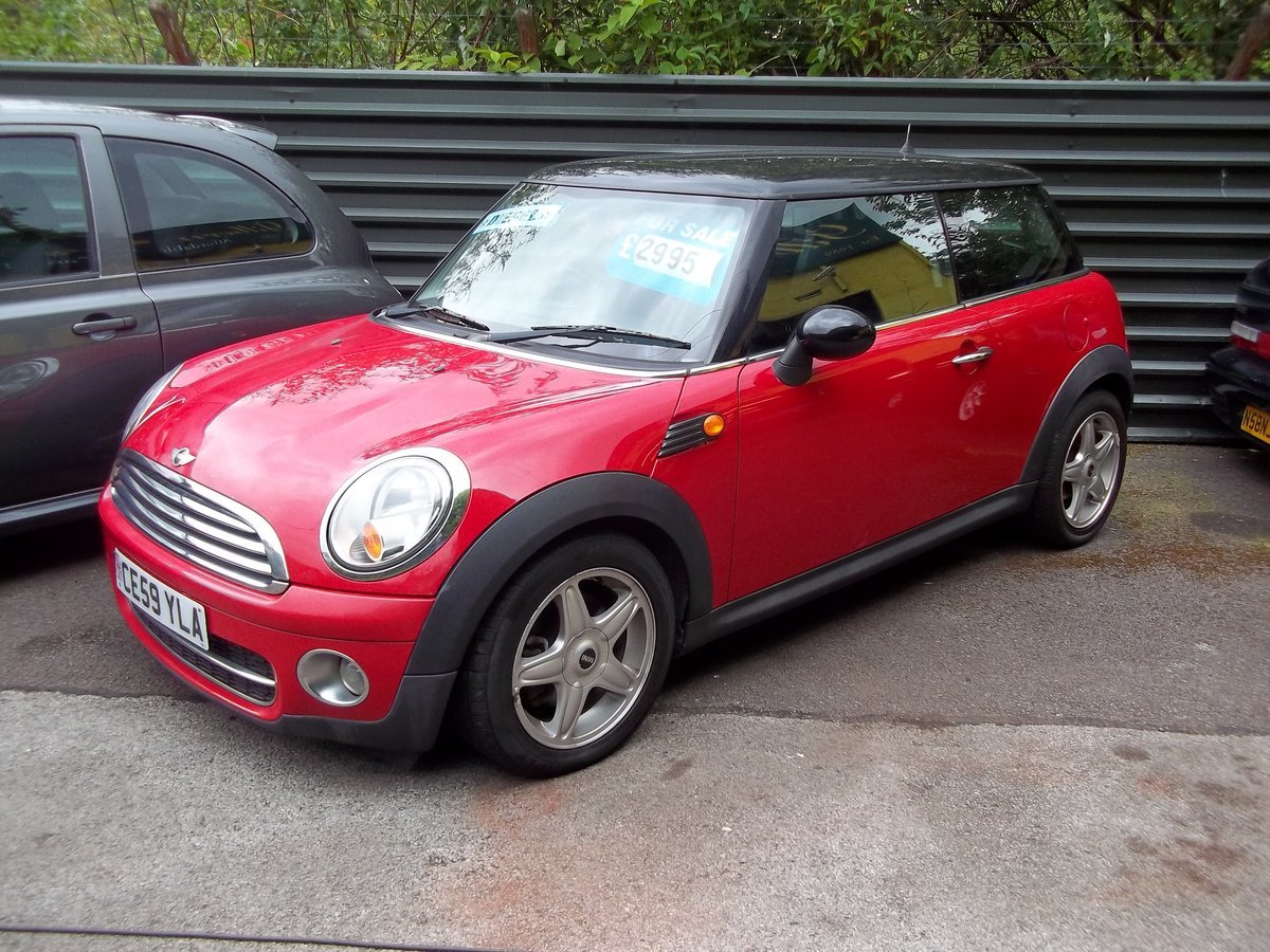 2009 Mini Cooper 1.6 Diesel For Sale (picture 1 of 5)