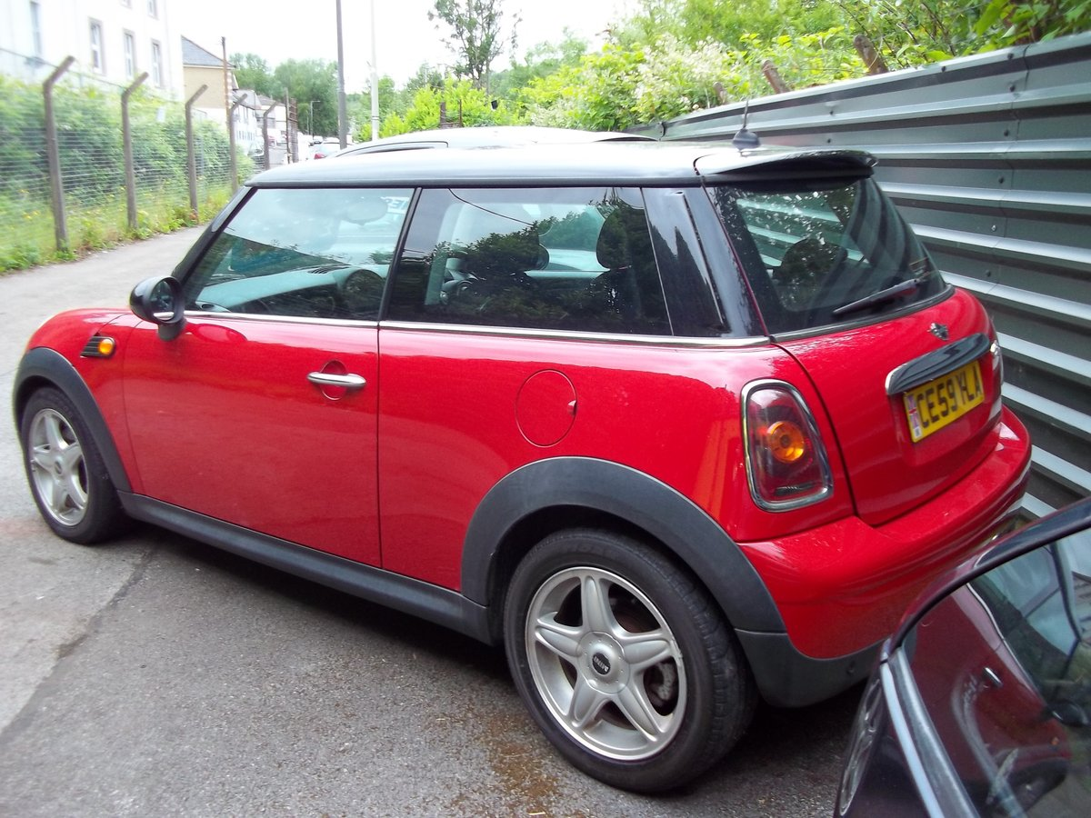 2009 Mini Cooper 1.6 Diesel For Sale (picture 4 of 5)