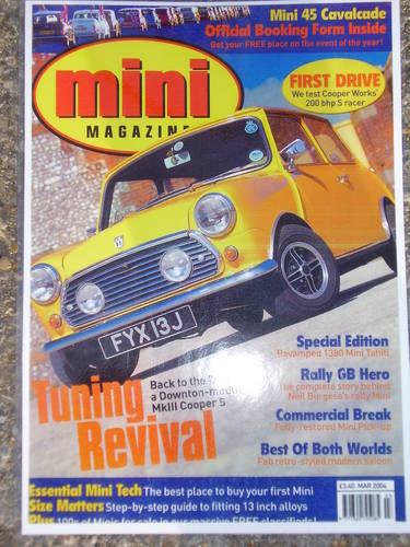 Genuine and rare 1971 Mini Cooper S mk3 for sale For Sale (picture 4 of 6)