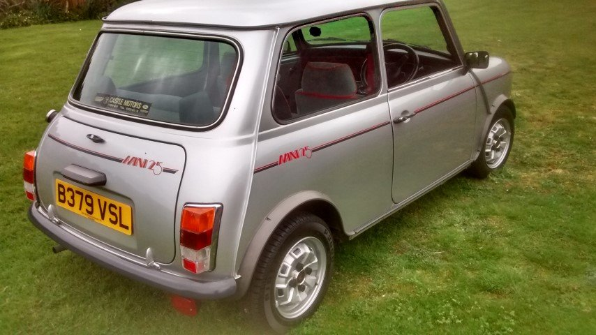 1984 mini 25 anniversary edition. 8700 miles only For Sale (picture 1 of 6)