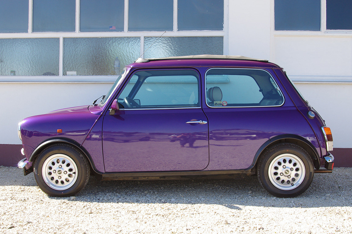 1997 Mini 1300 - fully restored - 2 owners - fsh - LHD SOLD (picture 1 of 6)