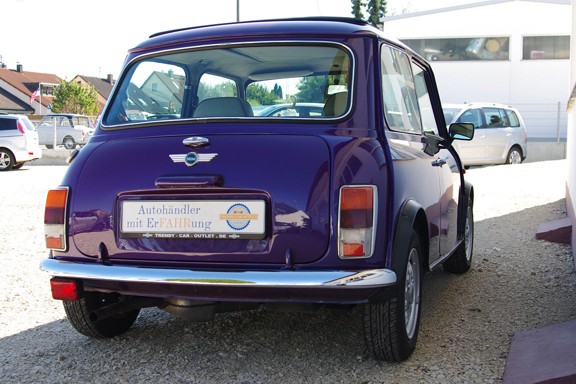 1997 Mini 1300 - fully restored - 2 owners - fsh - LHD SOLD (picture 6 of 6)