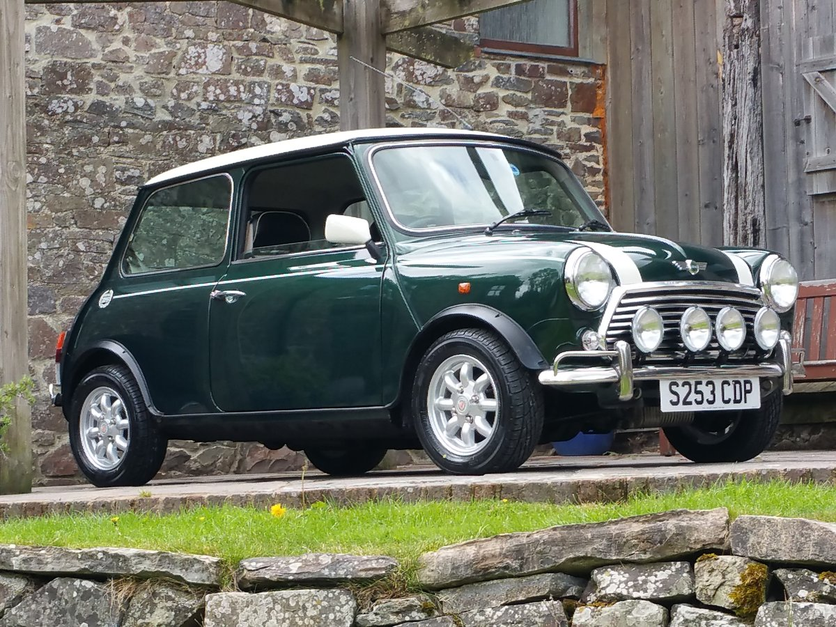 1999 Outstanding Original Mini Cooper On 8950 Miles In 20 Years! For Sale (picture 1 of 6)